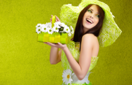 spring campaign 女性